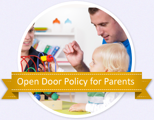 OPEN DOOR POLICY FOR PARENTS